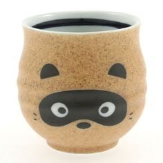 Sushi Cup Raccoon, $12, now featured on Fab. [Kotobuki Trading Co.]