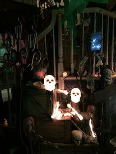Voodoo Swamp Halloween 2015 my own props Halloween 2015, Voodoo, Avatar, Darth Vader, Fictional Characters, Fantasy Characters