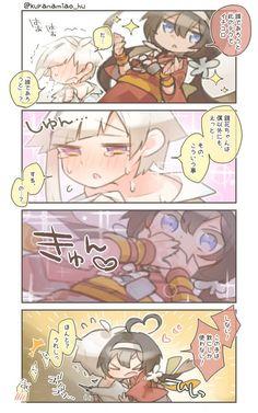 YAgen and akita (touken ranbu) Edogawa Ranpo, Bongou Stray Dogs, Games For Girls, Manga Drawing, Touken Ranbu, Akita, Funny Art, Anime Comics, Sword Art Online