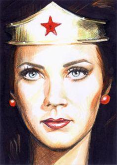 Wonder Woman - Lynda Carter, 5 by ~veripwolf on deviantART