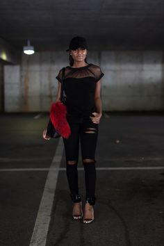 Black x Black   Monochromatic dressing: http://thedaileigh.com/product/monochromatic-dressing/