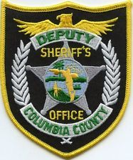 COLUMBIA COUNTY FLORIDA SHERIFF POLICE PATCH