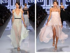 Christian Dior this summer, love the white dress.