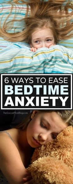 Anxiety, worry, and stress can keep your child (and you) awake at night. Six things you can do to alleviate those worries and help your anxious child sleep.