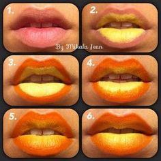 DIY Ombre Lips 1 DIY Ombre Lips