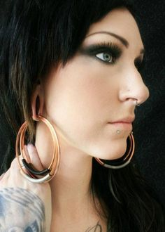 Makes Me Want To Stretch My Ears Again Bodymods Pinterest