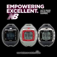 New Balance 900系列 多功能GPS充電心跳電子錶-黑/48x45mm -GOHAPPY快樂購物網