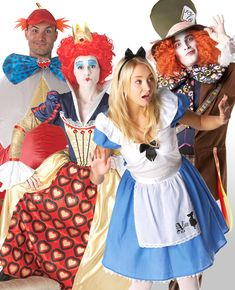 10 Easy Group Costume Ideas for You and Your Friends. Easy Group Costume  IdeasBest Group CostumesFamily CostumesAlice In Wonderland Fancy ... d0e54ba05992