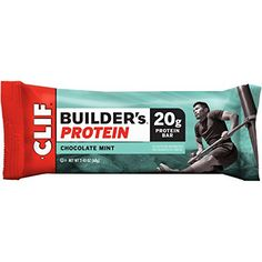 The entirely natural protein bar. 20 g Protein. High in protein. No trans fat. 13 Vitamins and minerals. When work feels like a workout. I know that feeling. Throughout high school and well into my tw...