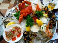 Joe Forte's Seafood Tower, Vancouver, BC. So Good!