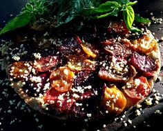 A Minor Kitchen Catastrophe and a Beetroot Tarte Tatin (GF)