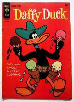 DAFFY DUCK GOLD KEY NO. #42 SEPTEMBER 1965 (FN)