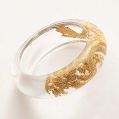 Gold dragon band