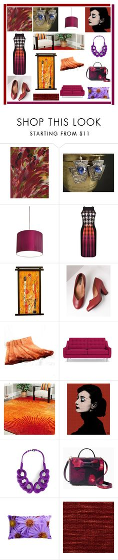 """""""Unique Fashion"""" by xena-style ❤ liked on Polyvore featuring Innermost, Forever Unique, NOVICA, Royal Vintage, Safavieh, Kate Spade and Zoffany"""