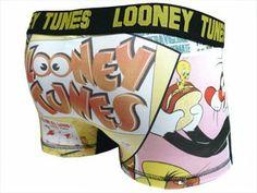 Amazon.co.jp: (キャラクタ アンダーウェア)Character Underwear ルーニーテューンズ LOONEY TUNES/3403 ボクサーパンツ: 服&ファッション小物