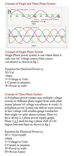 Concept of Single and Three Phase System   Electrical Engineering World