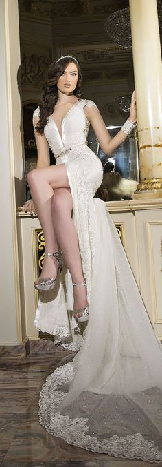 Shabi & Israel - Haute Couture Bridal 2016 Collection - 372A0027 - Belle The Magazine