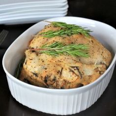 Garlic Herb Crock Pot Chicken