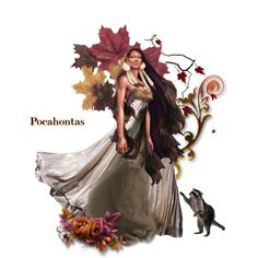Pocahontas by mystimorgan on Polyvore featuring art