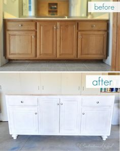 painting bathroom cabinets ideas. vanity before and after cg  Diy Bathroom VanityPaint CabinetsBathroom IdeasHall Love these painted bathroom cabinets the lights What I would