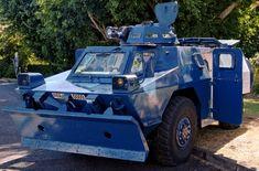 1974- VBRG (Véhicule Blindé de Reconnaissance de la Gendarmerie) VXB 170 - Gendarmerie Nationale - France