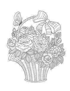 blumenvasen 30 ausmalbilder für kinder. malvorlagen zum ausdrucken und ausmalen   blumen vase