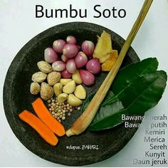 Bumbu Soto Base Foods, I Foods, Easy Cooking, Cooking Recipes, Cooking Time, Sambal Recipe, Indonesian Cuisine, Indonesian Recipes, Happy Cook