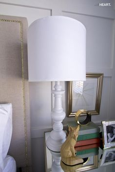 How to transform your old brass lamps or thrift store find by spray painting them. Spray Paint Lamps, Painting Lamps, Spray Painting, Diy Furniture Projects, Paint Furniture, Diy Projects, Ikea Lamp Shade, Paint Brass, Lamp Makeover