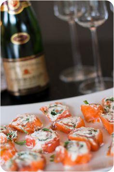 Plock till champagnen eller till buffén. - 56kilo - inspiration, hälsa och matglädje