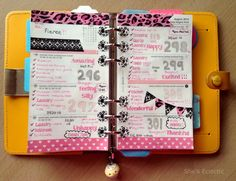 She's Eclectic: My week in my Filofax #31