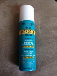 Marc Anthony Oil of Morocco Argan Oil hairspray 1.5 fl oz/ 53 ml $3.00