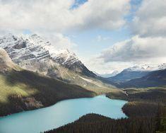 Rocky Mountain Photography, Peyto Lake, Landscape Photography, Banff Canada Photo, Mountain Lake, Rustic Decor, Nature, Fine Art
