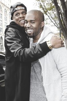 Jay-Z & Kanye #brotherhood