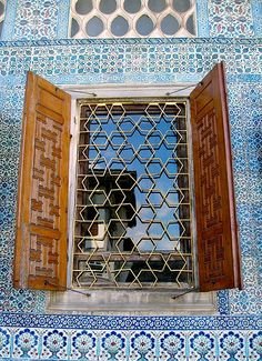 Decorative window ... Ottoman Turks