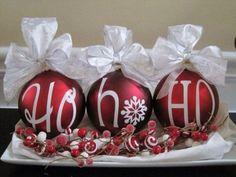 15 diy Christmas decorations