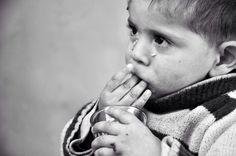 Omar, 2yo, Syrian refugee in Akkar, Lebanon