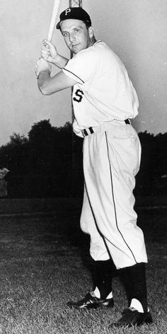 Ralph Kiner in his playing days with the Pittsburgh Pirates.