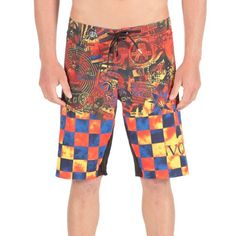 Volcom Mens Manic Mod Boardshort Mustard 34 ** View the item in details by clicking the image