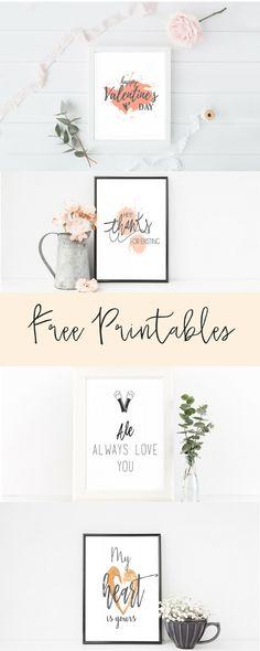 valentines day free printables 8x10