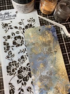 Who else has been watching Tim Demonstrate techniques every Saturday? After each one I am so excited to run up to my room and … Decoupage, Tim Holtz Dies, Nest Design, Pintura Country, Distress Oxide Ink, Ink Stamps, Collaborative Art, Elements Of Art, Watercolor Cards