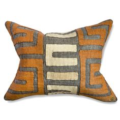 St. Frank | Kuba Cloth Pillow II
