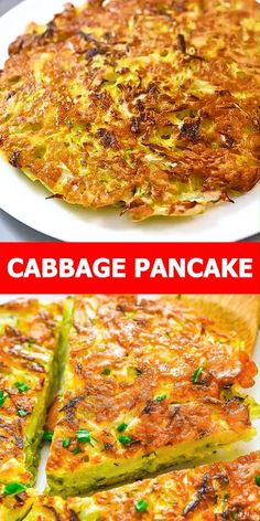 This Cabbage Pancake is absolutely scrumptious. Made with cabbage, eggs, and fresh herbs, it is simple yet very flavorful. FOLLOW Cooktoria for more deliciousness! If you try my recipes - share photos with me, I ALWAYS check! Cheesy Recipes, Easy Healthy Recipes, Healthy Cooking, Vegetable Recipes, Cooking Recipes, Authentic Mexican Recipes, Healthy Vegetarian Breakfast, Vegetarian Recipes, Amazing Food Videos