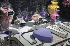 chalkboard  dessert table  candy buffet cake pops cup cakes macaroons cake & more
