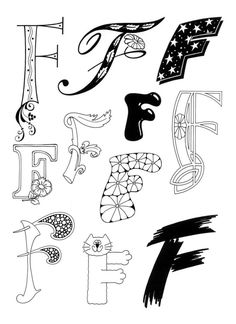 Feaster, Fayard, Family, Faith, Friends, etc.