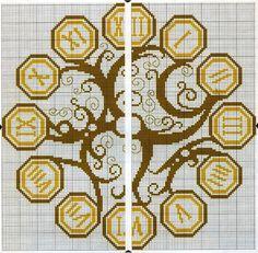 Steampunk Clock - grid