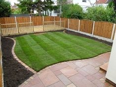 Low Maintenance Back Yard Landscaping Ideas | ... low maintenance gardens using hard landscaping , paving, gravel and  #LandscapingIdeas