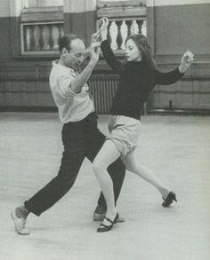 Suzanne Farrell, George Balanchine