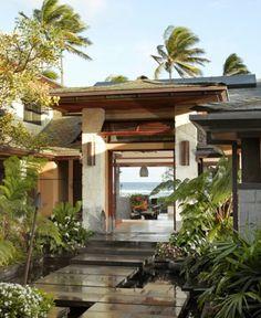 Tropical Modern Lanai
