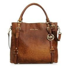 Michael Kors Large Bedford Ostrich Embossed Tote in Vintage Mocha... Can't find this anywhere! Searched all over the Internet! Prettiest MK purse, if you find it for sale somewhere, leave a comment!  I must have...
