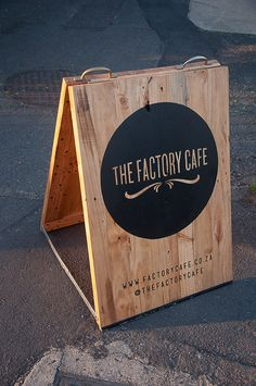 Street signage branding for a local coffee shop where I live. Durban, South Africa.